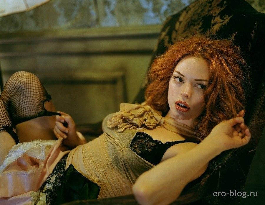 Голая обнаженная Роуз Макгоуэн интимные фото звезды