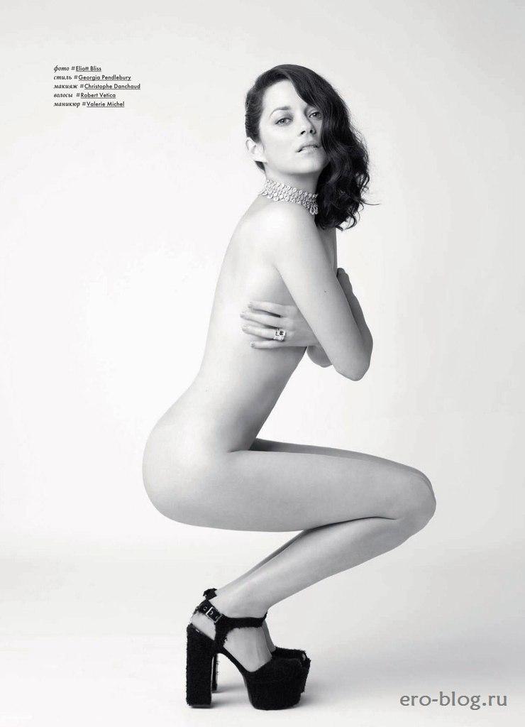 Голая обнаженная Марион Котийяр интимные фото звезды