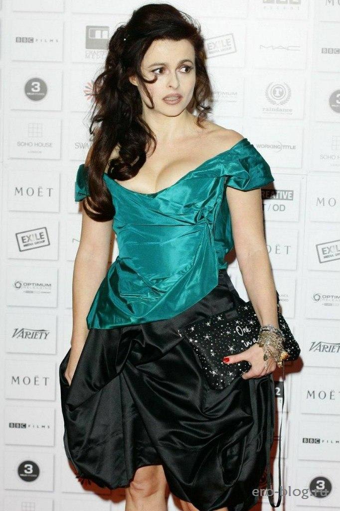 Голая обнаженная Helena Bonham Carter | Хелена Бонэм Картер интимные фото звезды