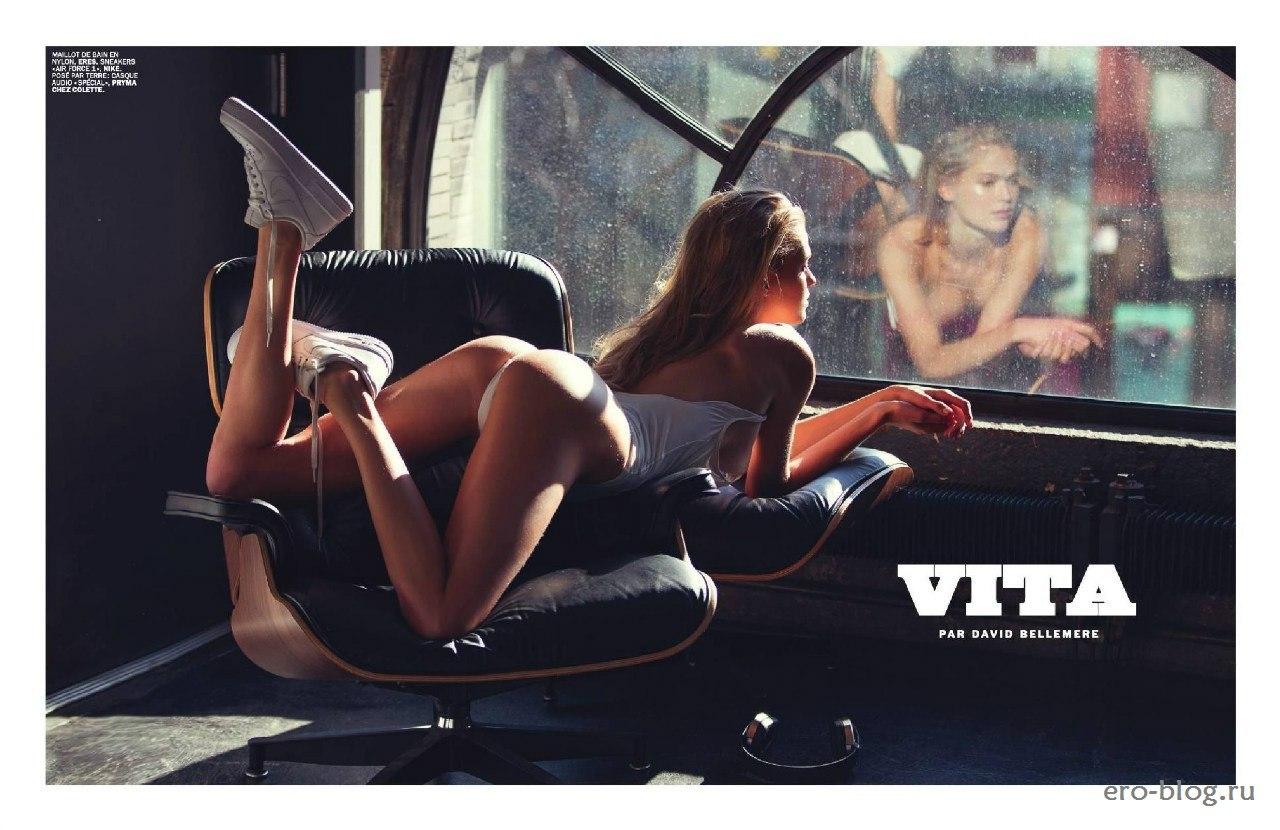 Голая обнаженная Вита Сидоркина интимные фото звезды