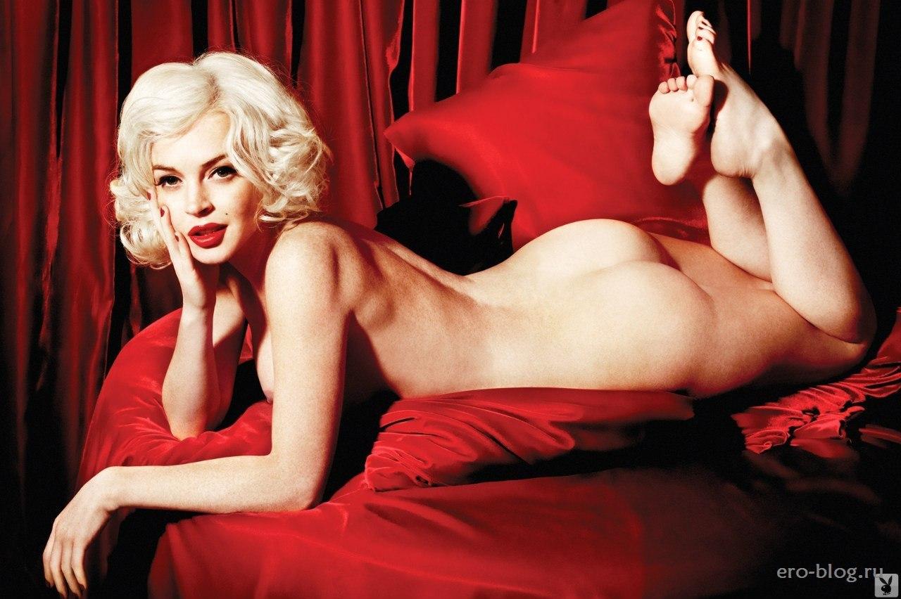 Голая обнаженная Lindsay Lohan | Линдси Лохан интимные фото звезды