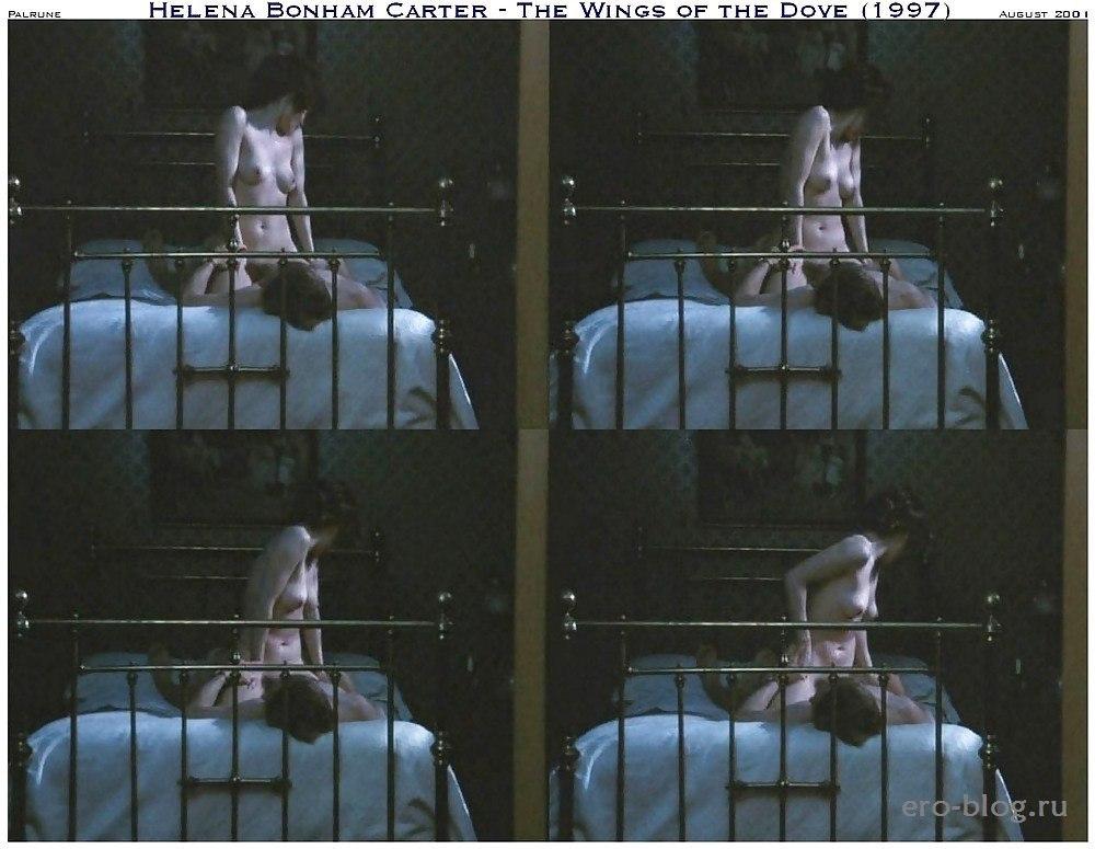 Голая обнаженная Хелена Бонэм Картер интимные фото звезды
