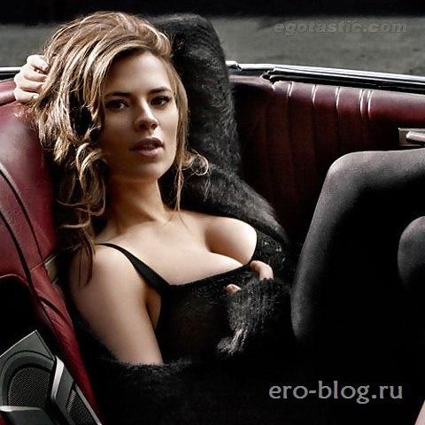 Голая обнаженная Хейли Этвелл интимные фото звезды