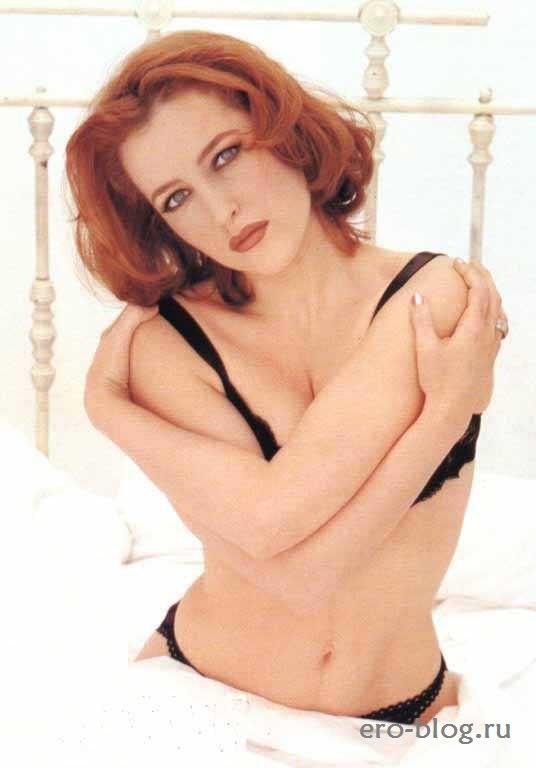 Голая обнаженная Gillian Anderson | Джиллиан Андерсон интимные фото звезды