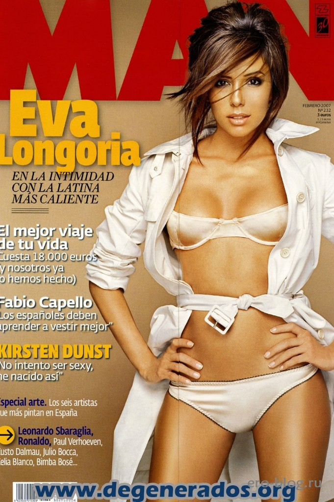 Голая обнаженная Eva Longoria   Ева Лонгория интимные фото звезды