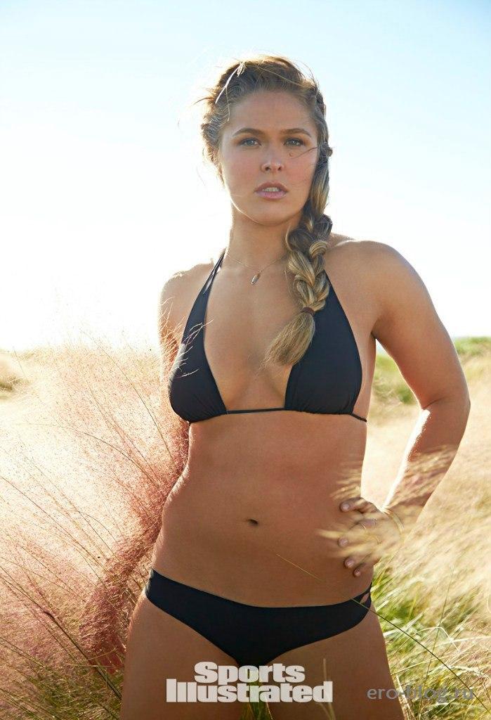 Голая обнаженная Ronda Rousey | Ронда Раузи интимные фото звезды