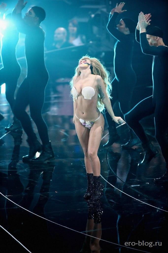 Голая обнаженная Lady Gaga | Леди Гага интимные фото звезды