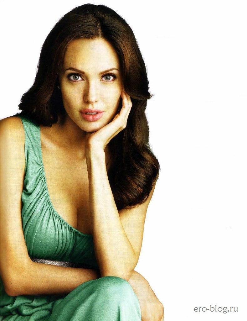 Голая обнаженная Анджелина Джоли интимные фото звезды