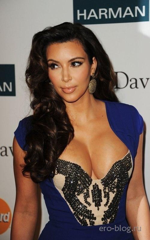 Голая обнаженная Kim Kardashian | Ким Кардашьян интимные фото звезды