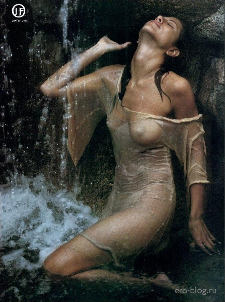Голая обнаженная Дженнифер Энистон интимные фото звезды