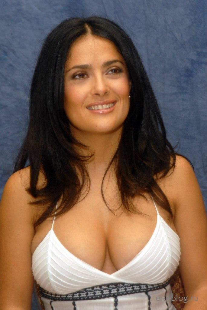 Голая обнаженная Salma Hayek | Сальма Хайек интимные фото звезды