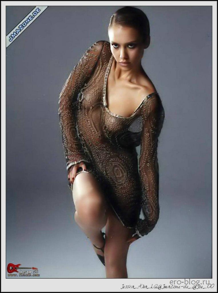 Голая обнаженная Джессика Альба интимные фото звезды