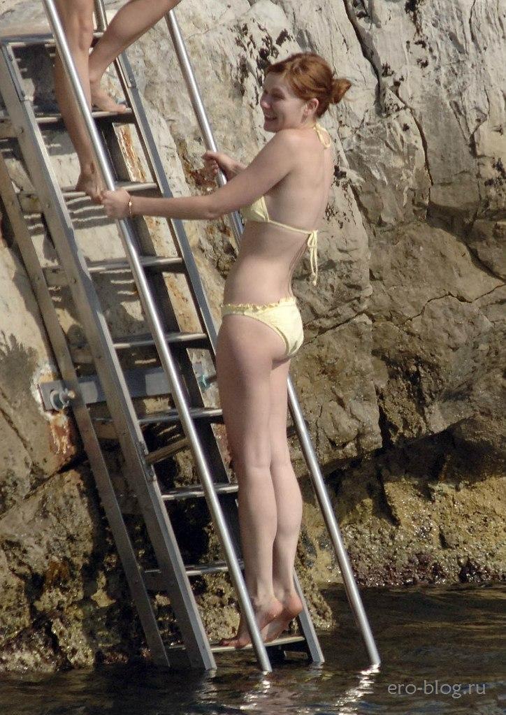 Голая обнаженная Kirsten Dunst | Кирстен Данст интимные фото звезды