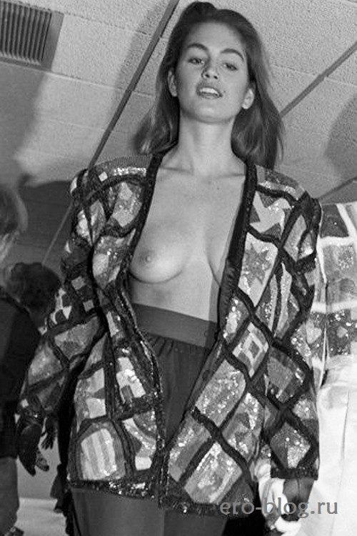 Голая обнаженная Синди Кроуфорд интимные фото звезды