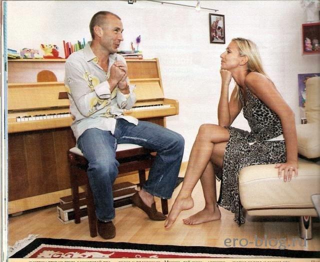 Голая обнаженная Татьяна Навка интимные фото звезды
