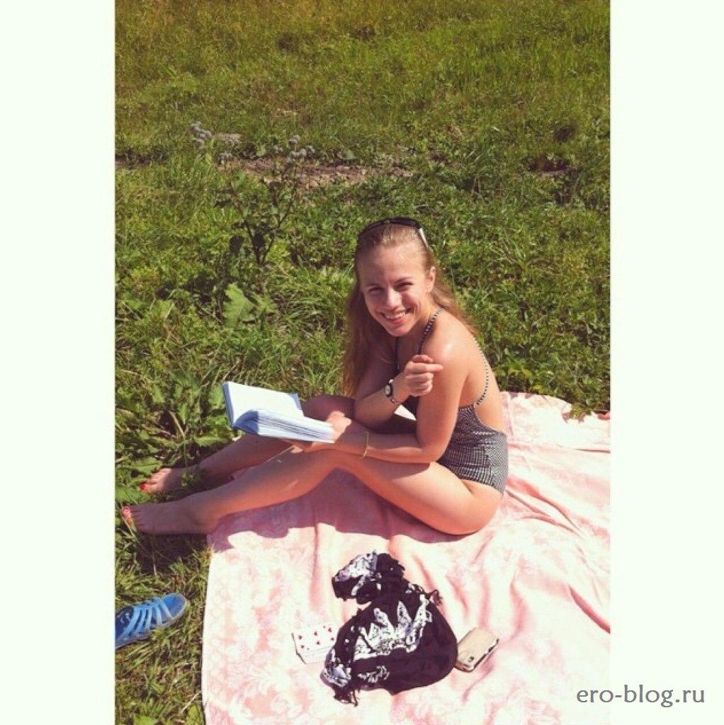 Голая обнаженная Виктория Клинкова интимные фото звезды