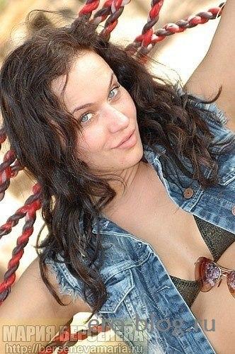 Голая обнаженная Мария Берсенева интимные фото звезды