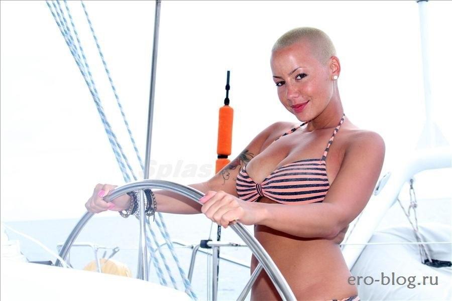Голая обнаженная Amber Rose | Эмбер Роуз интимные фото звезды