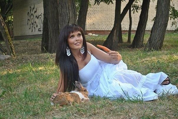 Голая обнаженная Мария Горбань интимные фото звезды