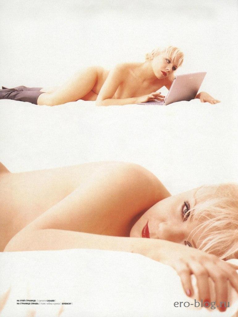 Голая обнаженная Лена Перова интимные фото звезды