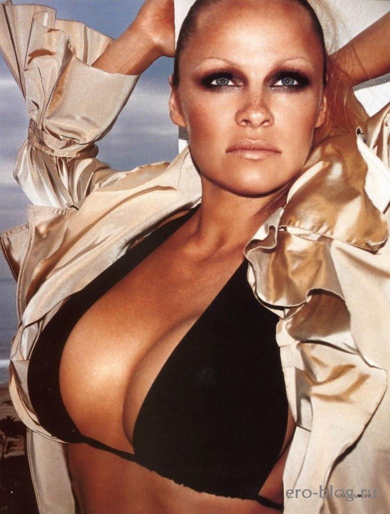 Голая обнаженная Pamela Anderson | Памела Андерсон интимные фото звезды