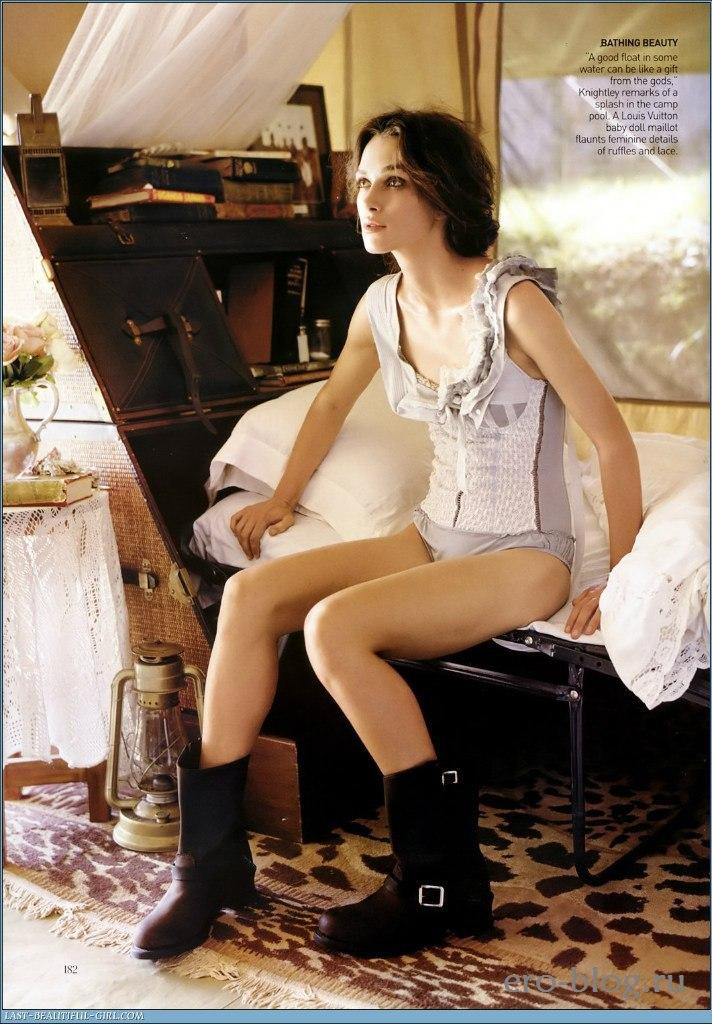 Голая обнаженная Keira Knightley | Кира Найтли интимные фото звезды