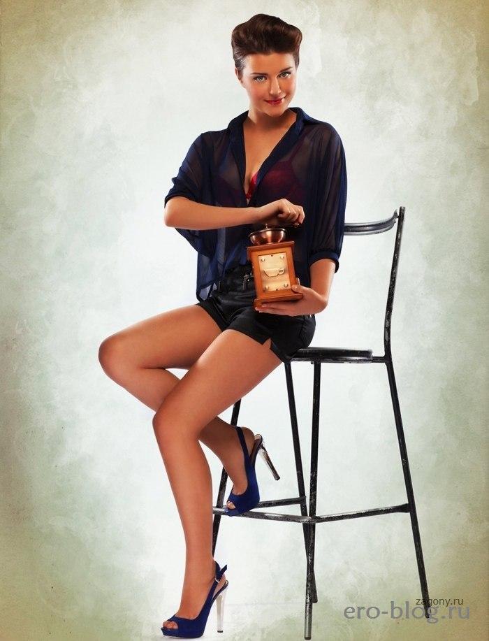 Голая обнаженная Анастасия Сиваева интимные фото звезды