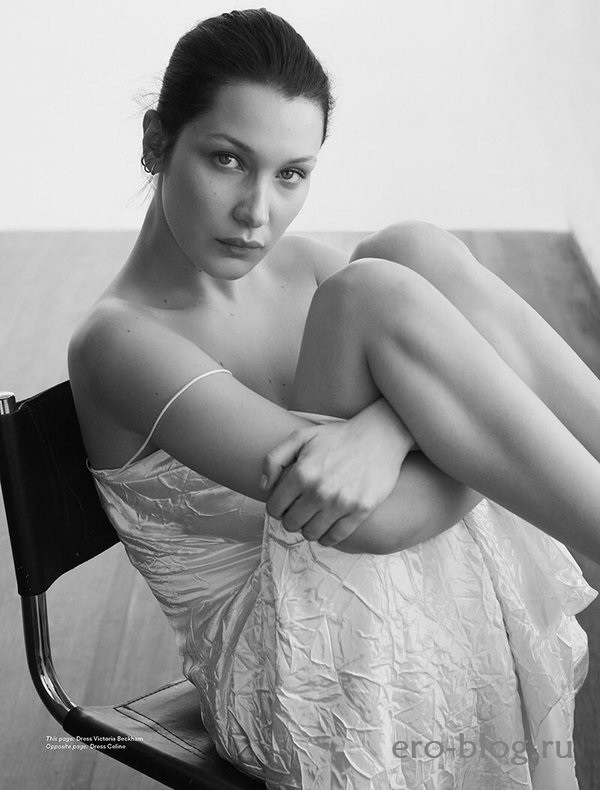 Голая обнаженная Белла Хадид интимные фото звезды