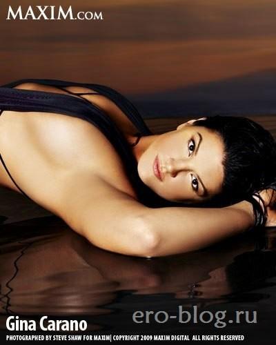 Голая обнаженная Gina Joy Carano | Джина Карано интимные фото звезды
