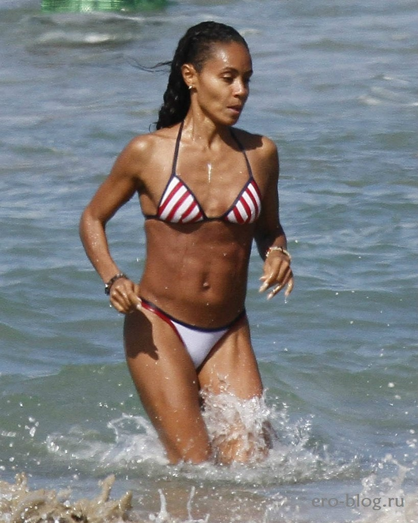 Голая обнаженная Jada Pinkett-Smith | Джада Пинкетт-Смит интимные фото звезды