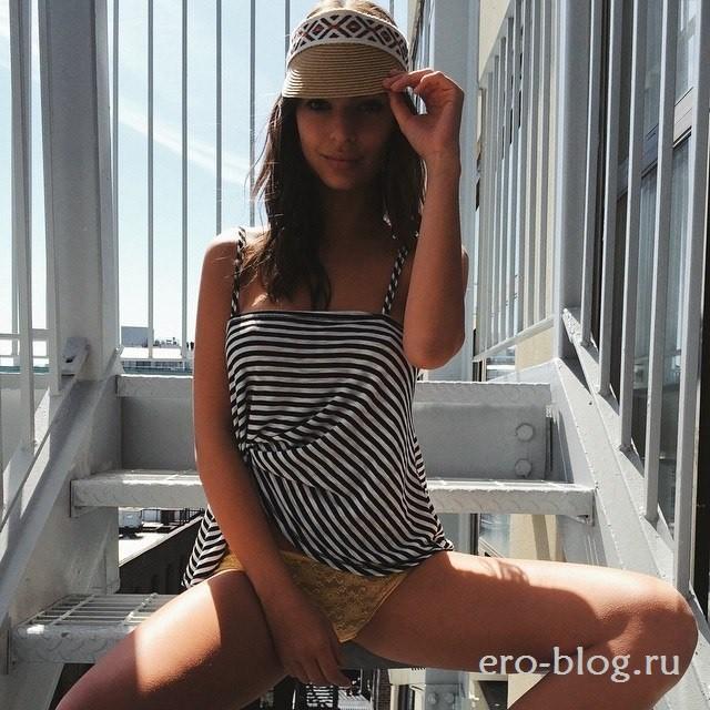Голая обнаженная Эмили Ратажковски интимные фото звезды