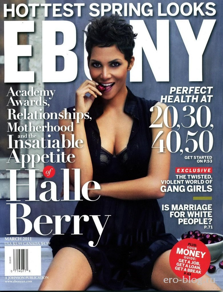 Голая обнаженная Холли Берри интимные фото звезды