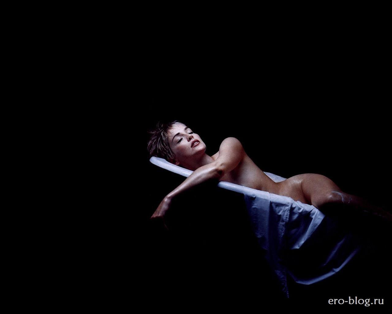 Голая обнаженная Шэрон Стоун интимные фото звезды