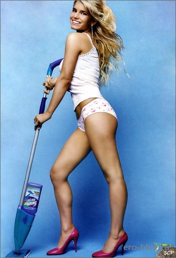Голая обнаженная Jessica Simpson | Джессика Симпсон интимные фото звезды