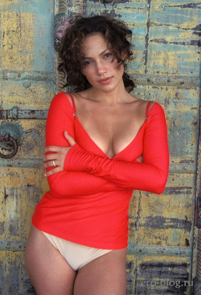 Голая обнаженная Дженнифер Лопес интимные фото звезды