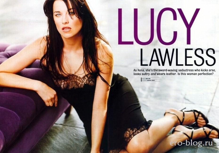 Голая обнаженная Lucy Lawless | Люси Лоулесс интимные фото звезды
