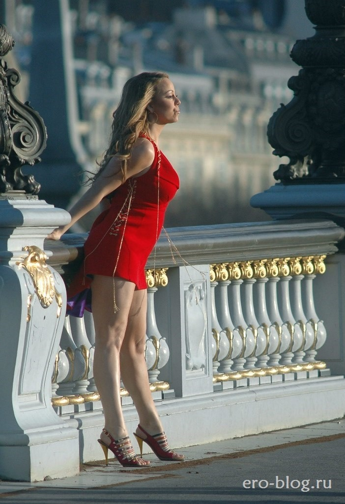 Голая обнаженная Мэрайя Кэри интимные фото звезды