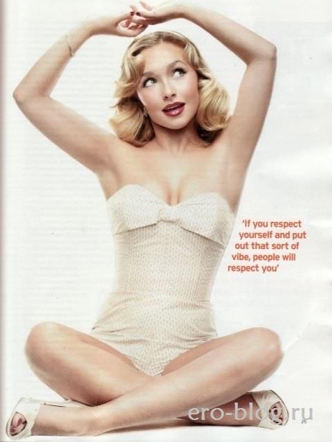 Голая обнаженная Hayden Panettiere | Хайден Панеттьер интимные фото звезды