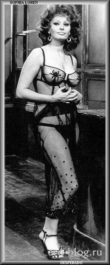 Голая обнаженная Софи Лорен интимные фото звезды