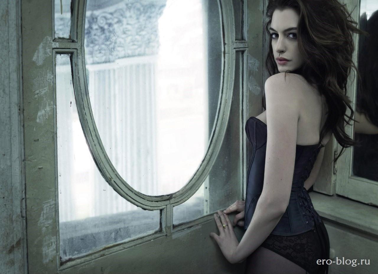 Голая обнаженная Anne Hathaway | Энн Хэтэуэй интимные фото звезды