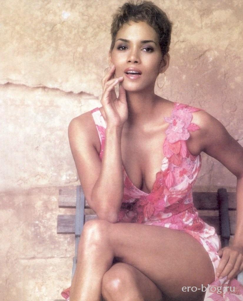 Голая обнаженная Halle Berry | Хэлли Берри интимные фото звезды