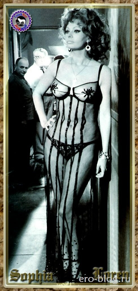 Голая обнаженная Sophia Loren | Софи Лорен интимные фото звезды