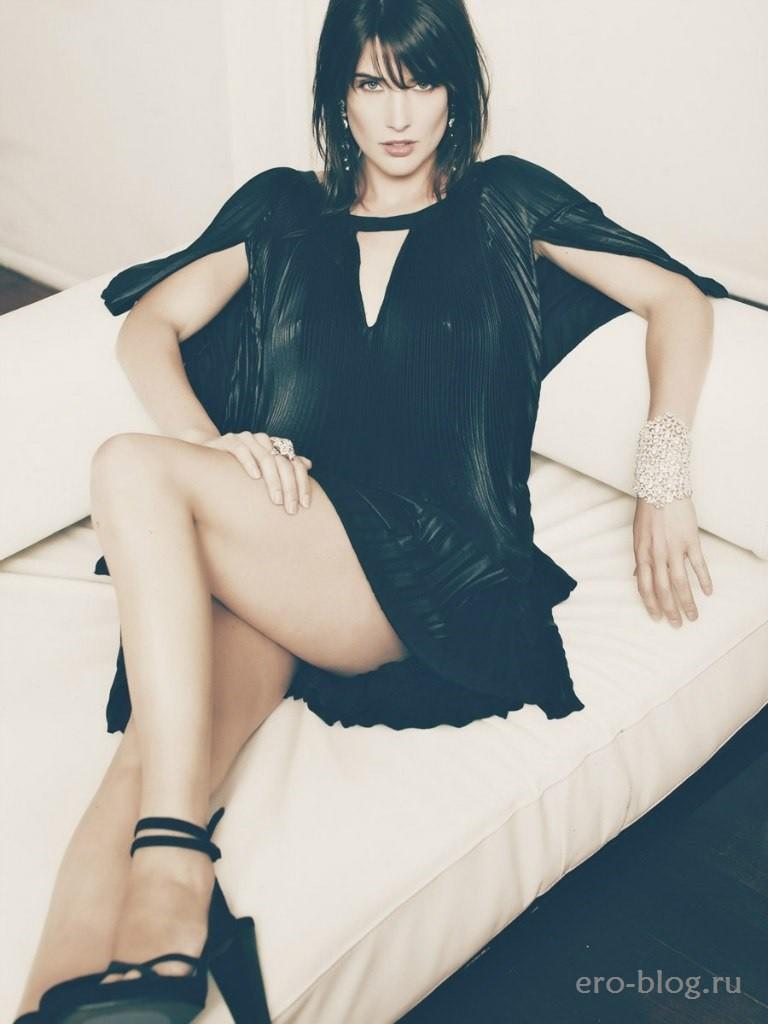 Голая обнаженная Cobie Smulders | Коби Смолдерс интимные фото звезды
