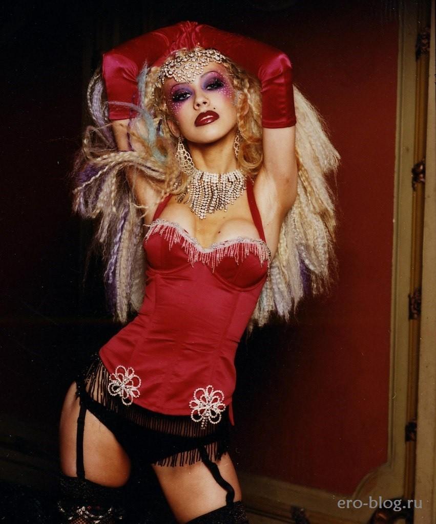 Голая обнаженная Christina Aguilera   Кристина Агилера интимные фото звезды