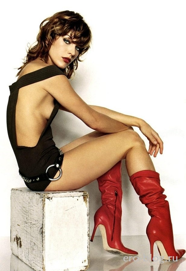 Голая обнаженная Milla Jovovich | Милла Йовович интимные фото звезды