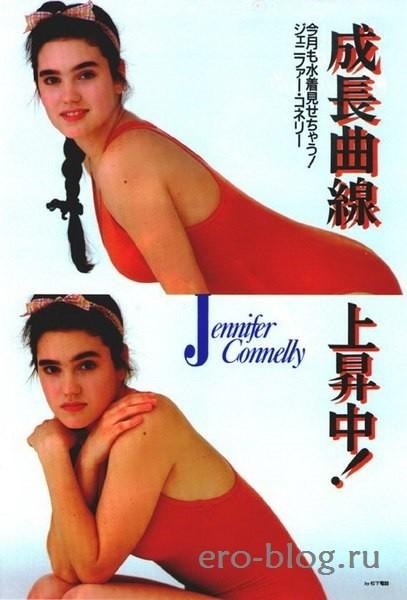 Голая обнаженная Дженнифер Коннелли интимные фото звезды