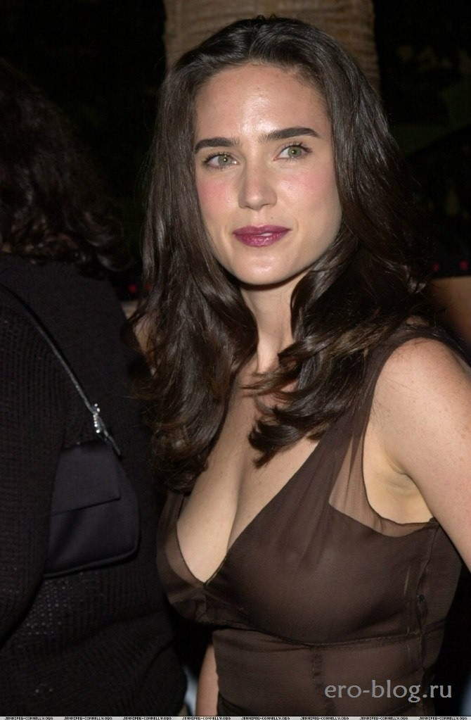 Голая обнаженная Jennifer Connelly | Дженнифер Коннелли интимные фото звезды