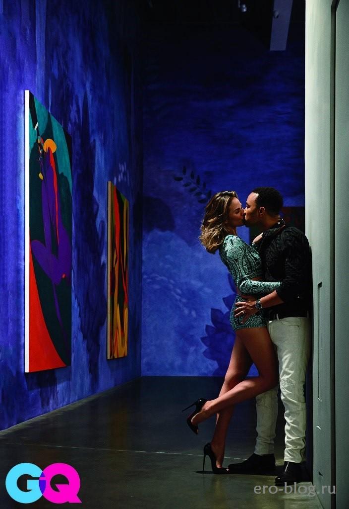 Голая обнаженная Крисси Тейген интимные фото звезды