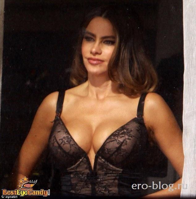 Голая обнаженная София Вергара интимные фото звезды