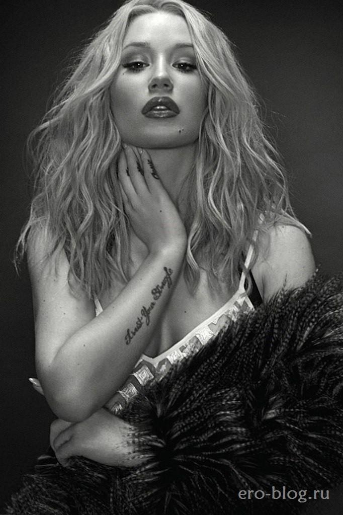 Голая обнаженная Iggy Azalea | Игги Азалия интимные фото звезды